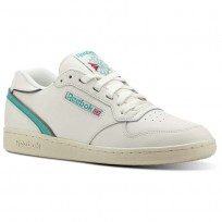 Reebok Act 300 Shoes Mens White/Turquoise CN3844
