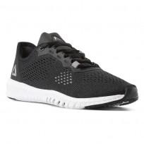 Reebok Flexagon Training Shoes Womens Black/White/Silver CN2407
