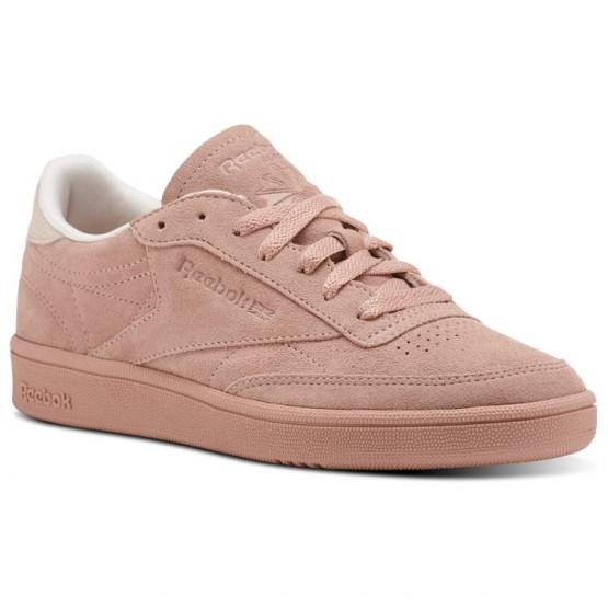 Shoes Reebok Club C 85 Womens Pink CM9053