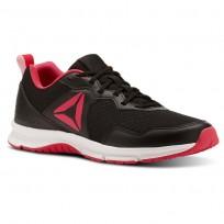 Reebok Express Runner 2.0 Running Shoes Womens Black/Pink/White CN3003
