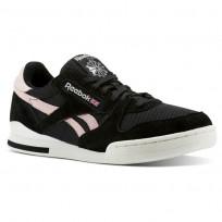 Reebok Phase 1 Pro Shoes Mens Black/Pink CN3743