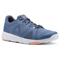 Reebok Flexile Training Shoes Womens Blue/Grey/Pink CN5365