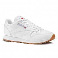 Reebok Classic Leather Shoes Womens White 49803