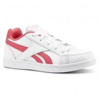 Reebok Royal Prime Shoes Girls White/Pink/Light Pink CN4766