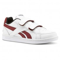 Reebok Royal Prime Shoes For Kids White/Red/Black CN4785