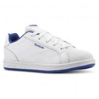 Reebok Royal Complete Shoes Kids White/Royal CN4808