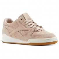 Reebok Phase 1 Pro Shoes Womens Beige/Pink CN4990