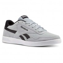 Reebok Royal Techque Shoes Mens Grey/Black/White CN3198