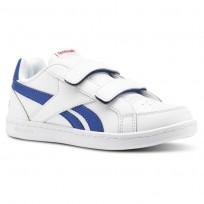 Zapatillas Reebok Royal Prime Niños Blancas/Azul Real/Rojas CN4786