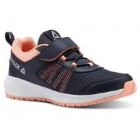 Running Shoes Reebok Road Supreme Girls Navy/Pink/Silver CN4203
