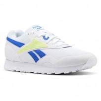 Zapatillas Reebok Rapide Mu Hombre Blancas/Azules/Limón/Gris CN5908