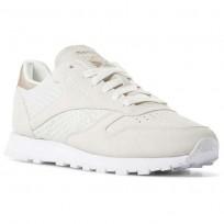 Zapatillas Reebok Classic Leather Mujer Blancas CN3737
