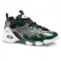 Reebok 3d Op. Shoes Mens Grey/Green/Black/White CN6794