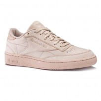 Reebok Club C 85 Shoes Mens Pink/Gold BS7854