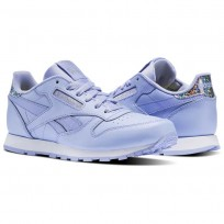 Reebok Classic Leather Shoes Girls White BS8978
