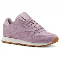 Reebok Classic Leather Shoes Womens Pink CN4023
