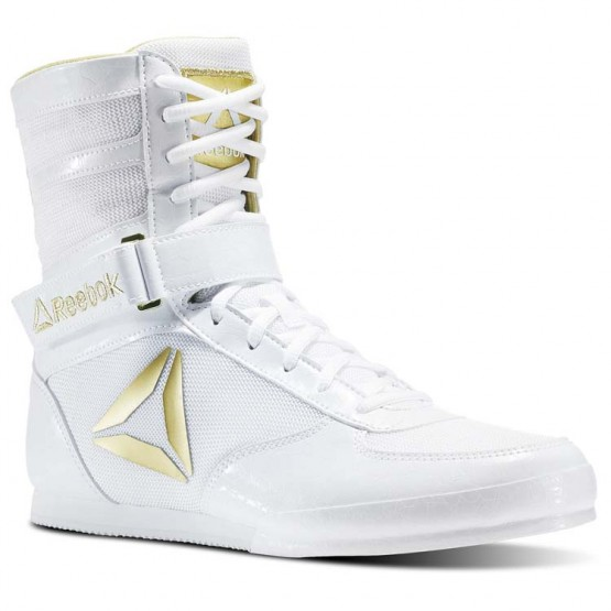 Reebok Boxing Tactical Shoes Mens White/Gold CN5080