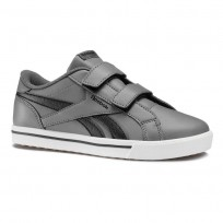 Reebok Royal Comp Shoes Boys Grey/Black CN4851