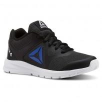 Reebok Rush Runner Running Shoes Boys Black/Blue CN5325