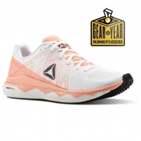 Reebok Floatride Run Running Shoes Womens Pink/White/Black/Grey CN4673