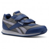 Reebok Royal Classic Jogger Shoes Kids Blue/Grey CN4953