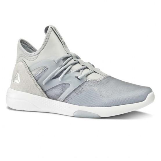 Reebok Hayasu Studio Shoes Womens Grey/Silver Metallic/White BS5904