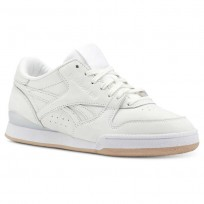 Reebok Phase 1 Pro Shoes Womens White/Beige/Rose Gold CN5460