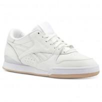 Zapatillas Reebok Phase 1 Pro Mujer Blancas/Beige/Rosas Doradas CN5460