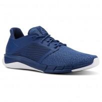 Running Shoes Reebok Print Mens Blue/White CN4909