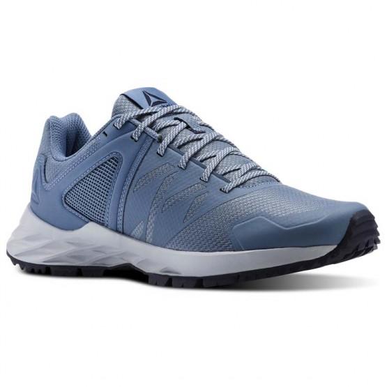 Reebok Astroride Trail Walking Shoes Womens Blue/Grey/Navy CN4581